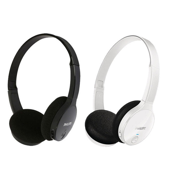 Auriculares Inalambricos Bluetooth Philips Shb4100bk