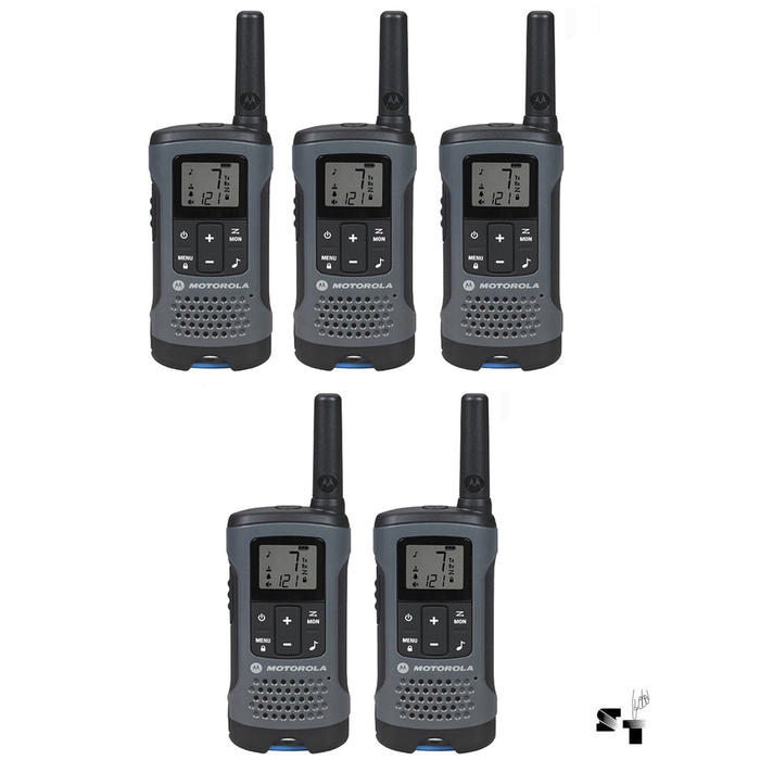 Cinco Handies Motorola T200 32 KM - 22 Canales