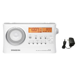 Radio Digital Am Fm Sangean Prd4 Alarma Reloj Memorias Sleep