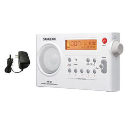 Radio Digital Am Fm Sangean Prd7 Alarma Reloj Memorias Sleep