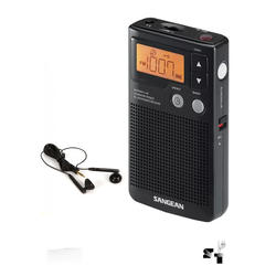 Radio Portatil Digital Pll Am Fm Sangean Dt-200x Lcd Memoria