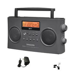 Radio Portatil Digital Am Fm Stereo Sangean Prd15 Recargable