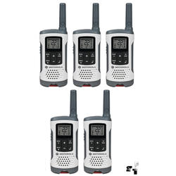 Cinco Handies Motorola T260 40 KM - 22 Canales