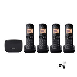 Base Dect Panasonic con cuatro handies KX-TG210